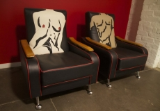 nude chairs