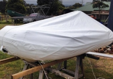 Inflatable Boat -Tender Cover in Stamoid