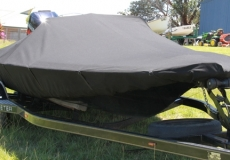 Fitted Travel Cover for Skeeter in Sunbrella