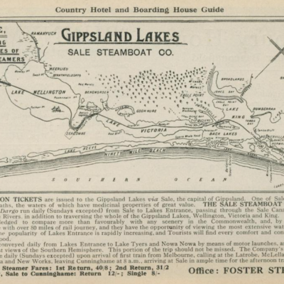 steamer route